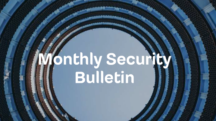 Monthly Security Bulletin - December