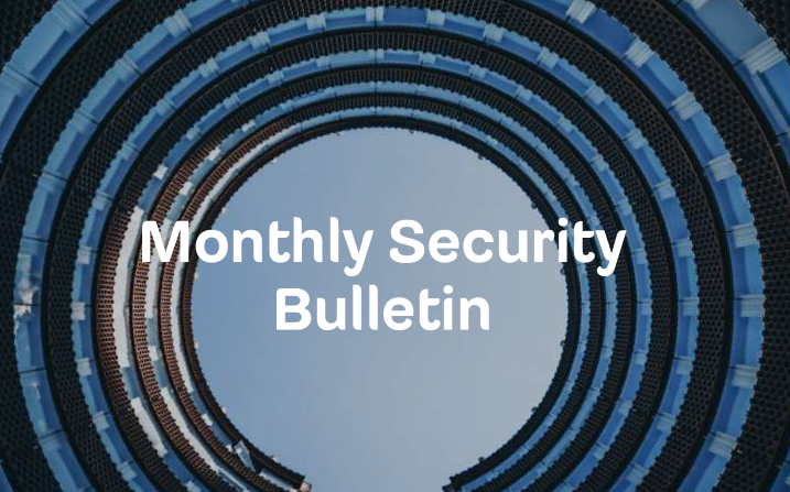 Monthly Security Bulletin – May