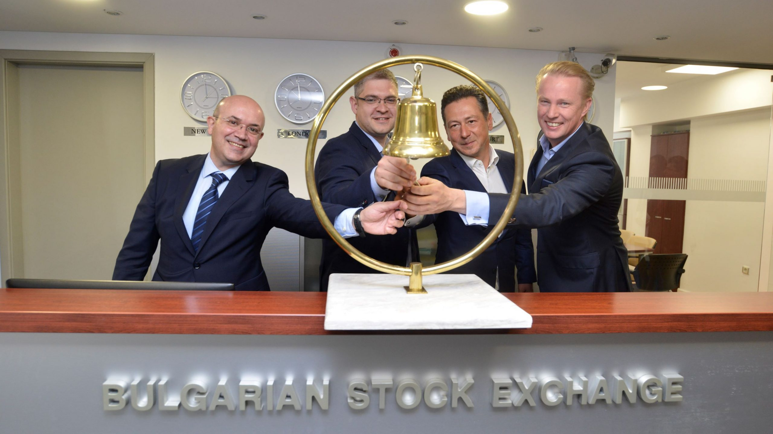 Bulgarian Stock Exchange Welcomes Telelink Business Services to Its Floor