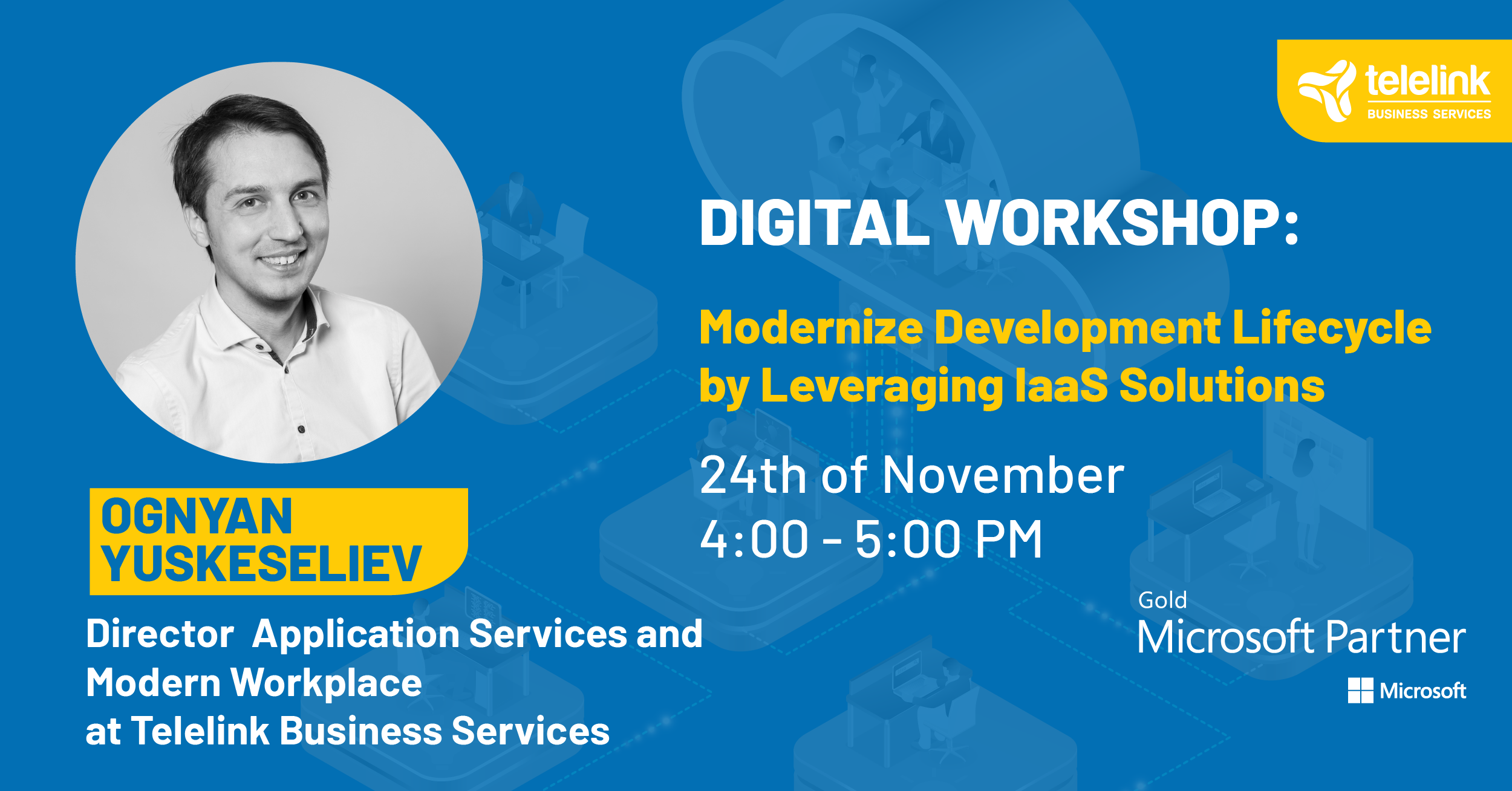 Modernize Development Lifecycle by Leveraging IaaS Solutions