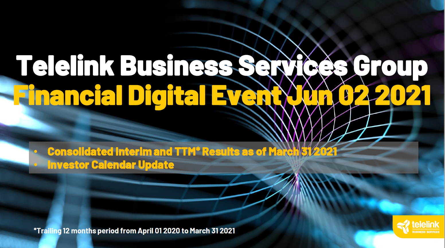 TBS Group: Q1 & TTM 2021 Financial Overview and Investors Q&A Presentation